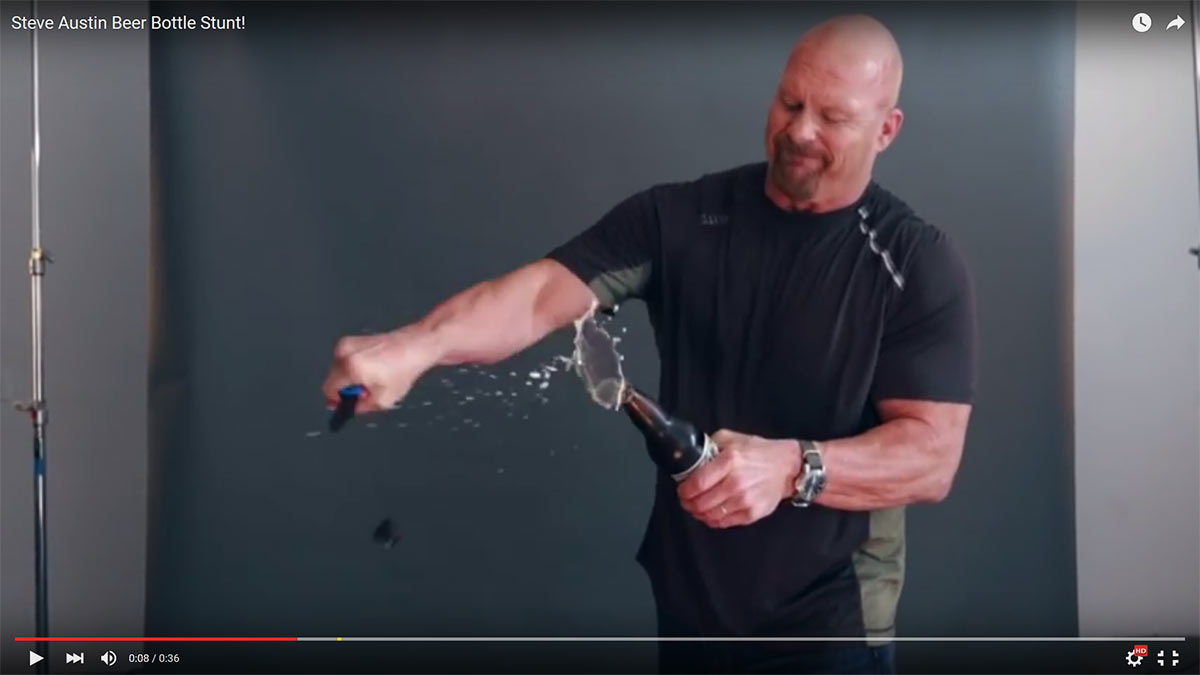 Cold Steel Teams Up With Stone Cold Steve Austin On Broken