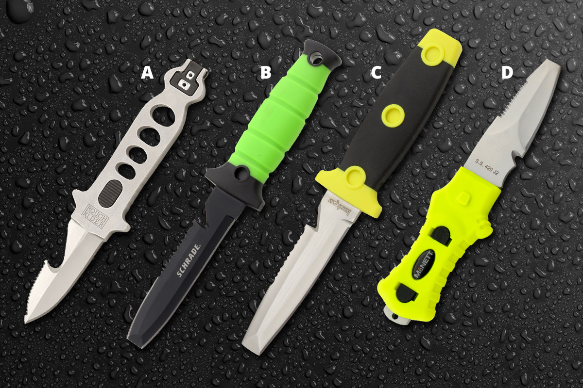 The Water S Warming Up Here Are 4 Dive Knives You Should