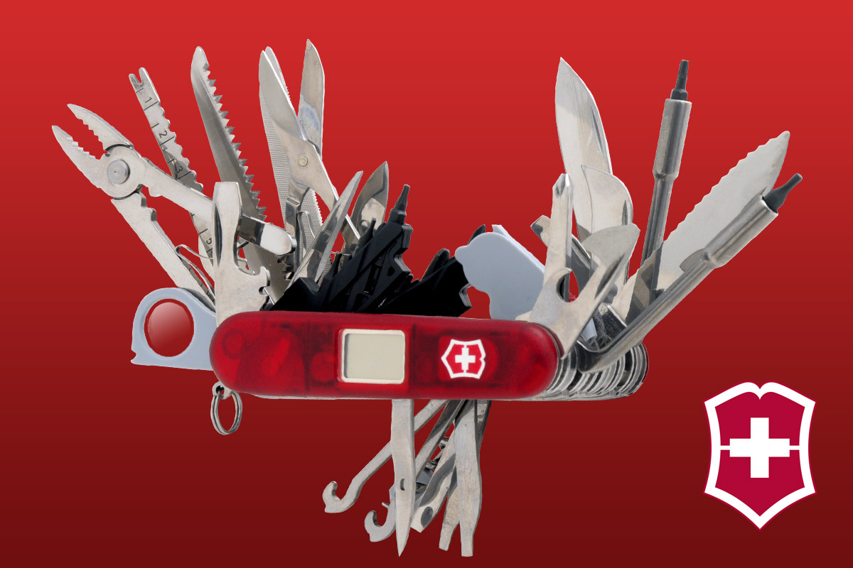The Swiss Army Knife To End All Swiss Army Knives The