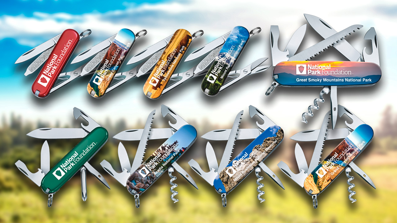 Victorinox S National Park Foundation Series Inspires Adventure Knife Newsroom