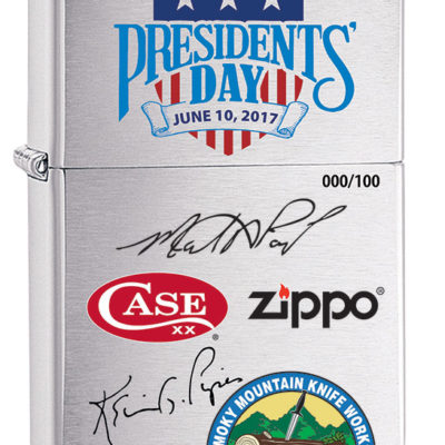 Case & Zippo Presidents' Day at SMKW