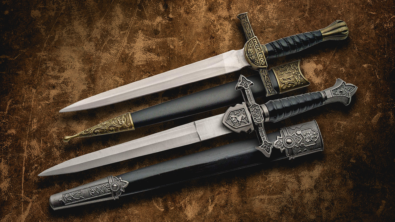 Macleod and Royal Daggers available at SMKW.com