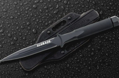 Schrade One-Piece Boot Knife