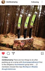 Zombie Nick Canoes in Northern Ireland
