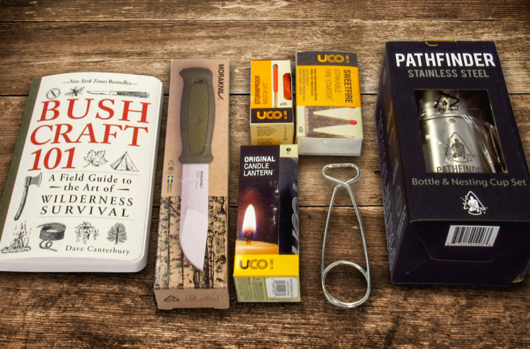 Pathfinder Bushcraft Survive and Thrive Kit