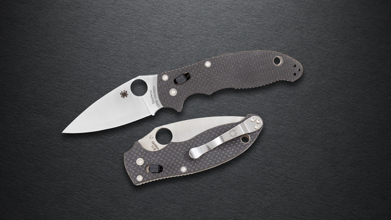 Spyderco Manix 2 Sprint Run