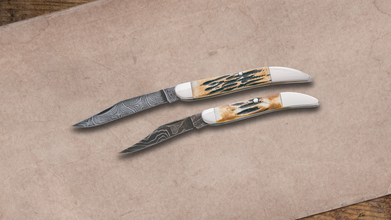 Bear and Sons Damascus Toothpicks