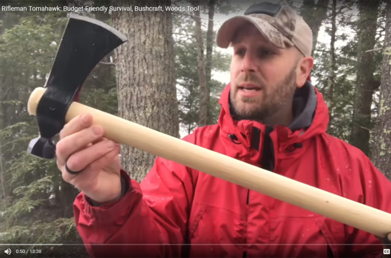 Everyday TacticalVids Review: Cold Steel Rifleman Tomahawk
