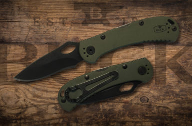Buck SpitFire in OD Green