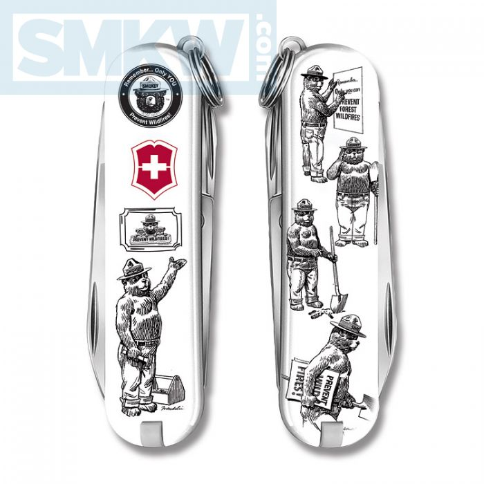 Two New Designs Released In The Victorinox Smokey Bear