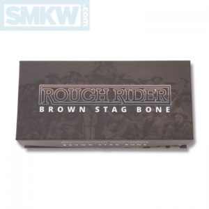 Rough Ryder Brown Stag Bone